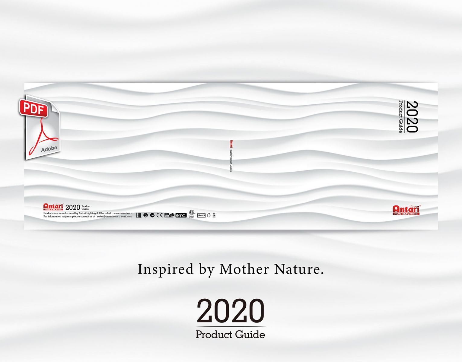 Antari 2020 產品指南 (英文版本) 已釋出,中文版本將於近期發佈
